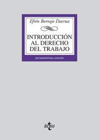 9788430947744: Introduccion al derecho del trabajo (17ª ed.) (Biblioteca Universitaria)