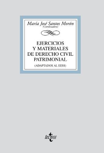 9788430949366: Ejercicios y materiales de Derecho Civil Patrimonial/ Exercises and Materials Civil Patrimonial: Adaptados Al Eees/ Adapted to the Ehea (Biblioteca Universitaria/ University Library) (Spanish Edition)