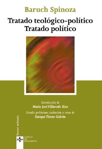9788430949953: Tratado teológico-político. Tratado político (Clásicos - Clásicos Del Pensamiento)