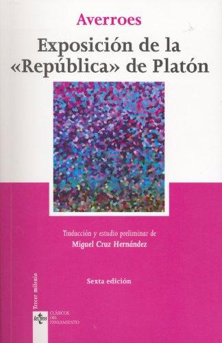 9788430950461: Exposicion de la Republica de Platon (Spanish Edition)