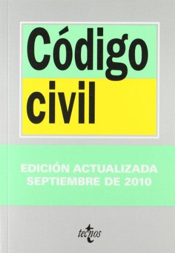 9788430950911: Código Civil (Derecho - Biblioteca De Textos Legales)
