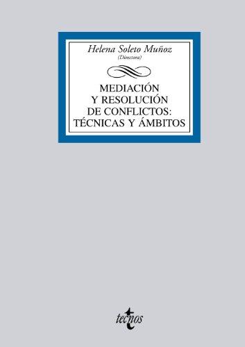 9788430951321: Mediación y resolución de conflictos: Técnicas y ámbitos