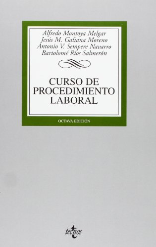 9788430951376: Curso de procedimiento laboral / Course of work procedure (Spanish Edition)