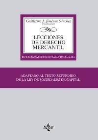 9788430951451: Lecciones de Derecho Mercantil (Derecho - Biblioteca Universitaria De Editorial Tecnos)