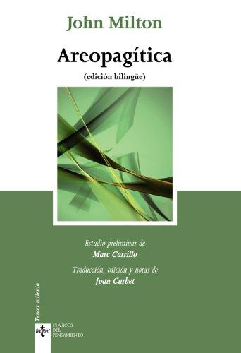 9788430952656: Areopagítica: (edición bilingüe) (Clásicos - Clásicos Del Pensamiento)