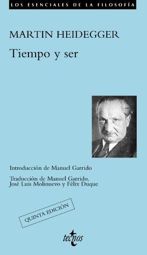 Tiempo y ser: Heidegger, Martin