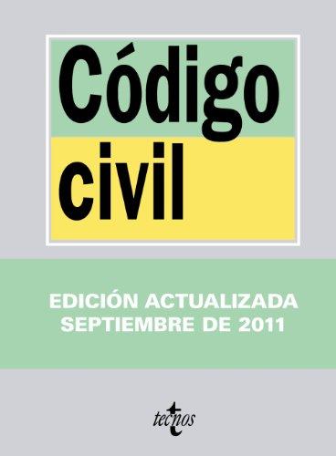 9788430953028: Codigo civil / Civil Code (Biblioteca De Textos Legales / Legal Texts Library) (Spanish Edition)