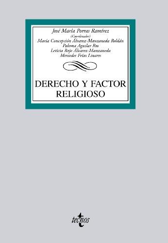 9788430953288: Derecho y factor religioso (Derecho - Biblioteca Universitaria De Editorial Tecnos)