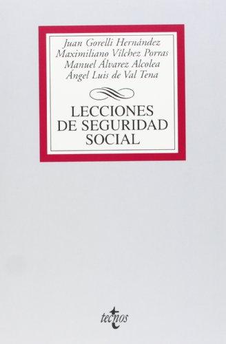 9788430953318: Lecciones de Seguridad Social