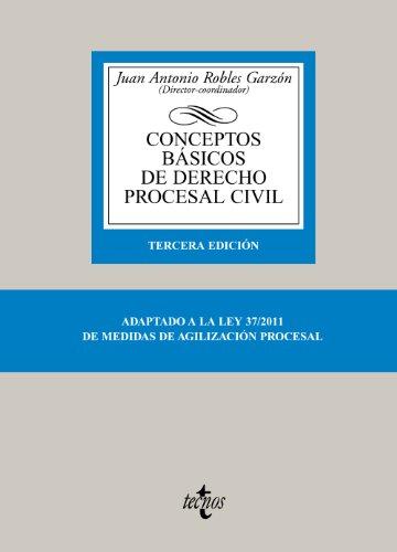 9788430953400: Conceptos basicos de derecho procesal civil / Basic Concepts of Civil Procedural Law (Spanish Edition)