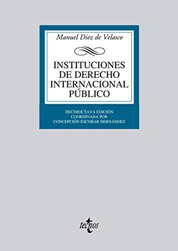 Instituciones de derecho internacional público / Institutions: Vallejo, Manuel Diez