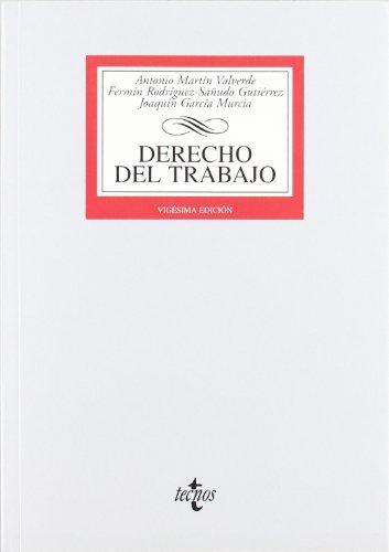9788430953479: Derecho del Trabajo (Derecho - Biblioteca Universitaria De Editorial Tecnos)