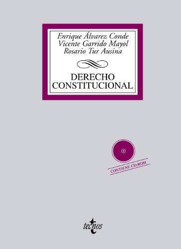 9788430953905: Derecho Constitucional: Contiene CD (Derecho - Biblioteca Universitaria De Editorial Tecnos)