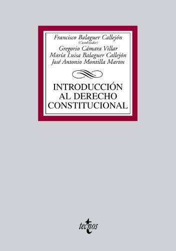9788430953974: Introduccion al derecho constitucional / Introduction to constitutional law (Spanish Edition)