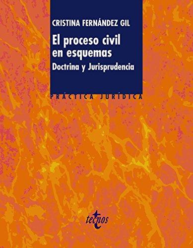 9788430954681: El Proceso Civil En Esquemas / The Civil Process In Schemes: Doctrina Y Jurisprudencia / Doctrine and Jurisprudence (Practica Juridica) (Spanish Edition)