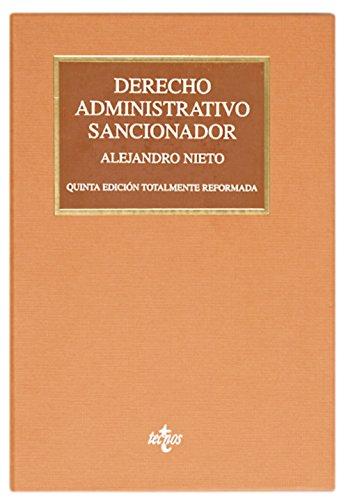 9788430954766: Derecho Administrativo Sancionador / Sanctioning Administrative Law (Spanish Edition)