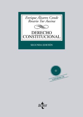 9788430955077: Derecho Constitucional: Contiene CD (Derecho - Biblioteca Universitaria De Editorial Tecnos)