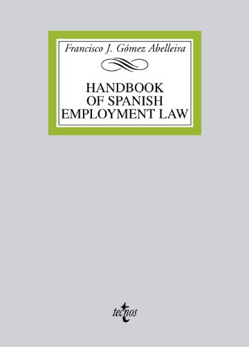 9788430955190: Handbook on spanish employment law