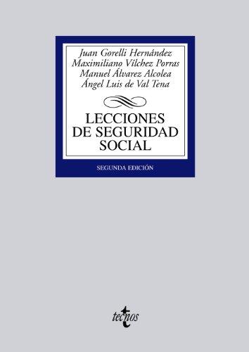 9788430955275: Lecciones de Seguridad Social / Social Security Lessons (Spanish Edition)