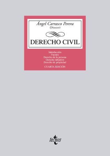 9788430955350: Derecho Civil / Civil law: Introducción. Fuentes. Derecho de la persona. Derecho subjetivo. Derecho de propiedad (Spanish Edition)