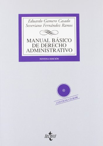 9788430955381: Manual básico de Derecho Administrativo: Contiene CD (Derecho - Biblioteca Universitaria De Editorial Tecnos)