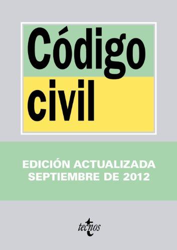 9788430955527: Código Civil (Derecho - Biblioteca De Textos Legales)