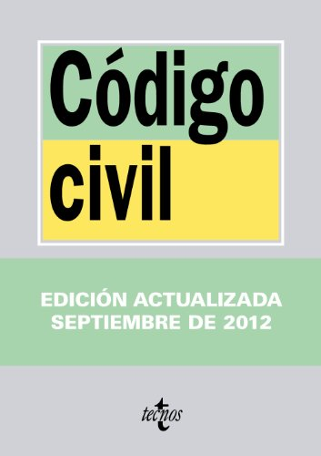 9788430955527: Codigo civil / Civil Law (Spanish Edition)