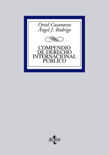 9788430957163: Compendio de Derecho Internacional Público