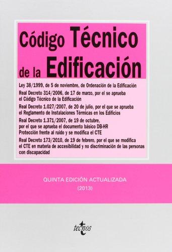 Código técnico de la edificación / Technical Building Code: Ley 38/...