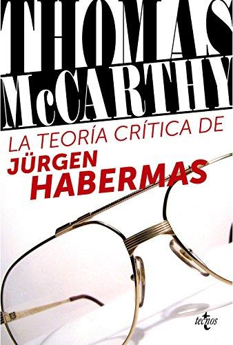 9788430957927: La teoría crítica de Jürgen Habermas / The Critical Theory of Jürgen Habermas (Spanish Edition)