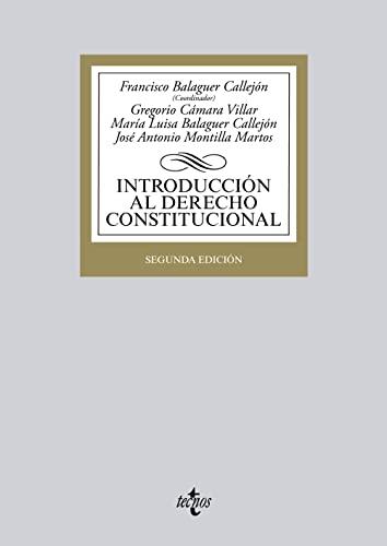 9788430958320: Introducción al Derecho Constitucional (Derecho - Biblioteca Universitaria De Editorial Tecnos)