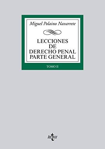 9788430958467: Lecciones de Derecho Penal Parte general
