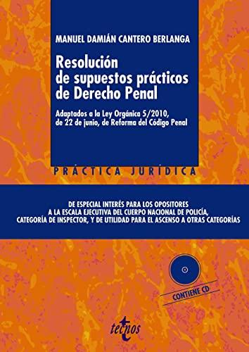 9788430958610: Resolución de supuestos prácticos de Derecho Penal