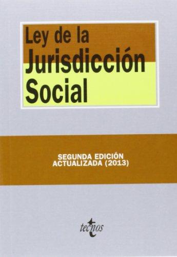 9788430958832: Ley De La Jurisdicción Social (Derecho - Biblioteca De Textos Legales)