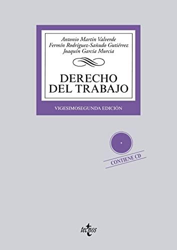 9788430958948: Derecho del Trabajo: Contiene CD (Derecho - Biblioteca Universitaria De Editorial Tecnos)