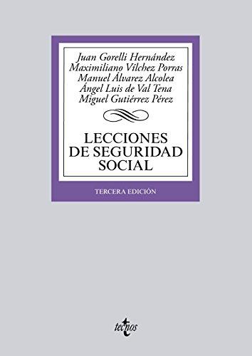 9788430958986: Lecciones de Seguridad Social