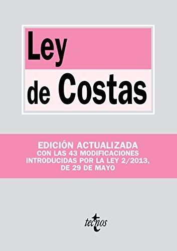 9788430959044: Ley de Costas: Ley 22/1988, de 28 de julio (Derecho - Biblioteca De Textos Legales)