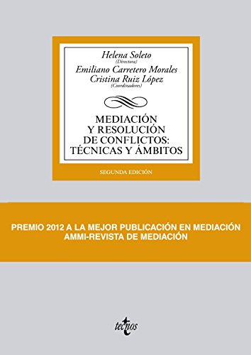 9788430959259: Mediación y resolución de conflictos / Mediation and Conflict Resolution: Técnicas y ambitos / Technical Areas (Spanish Edition)