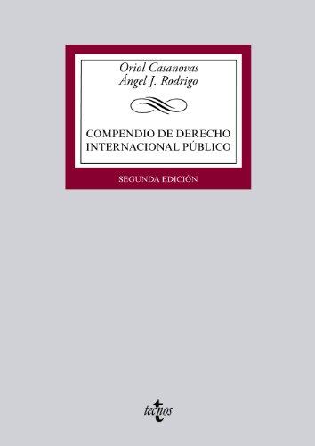 9788430959280: Compendio De Derecho Internacional Público (Derecho - Biblioteca Universitaria De Editorial Tecnos)