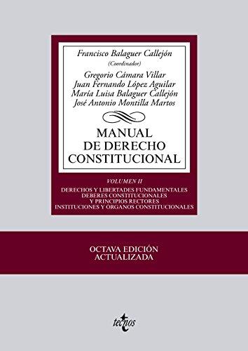 Manual de derecho constitucional / Costitucional Law: José Antonio Montilla