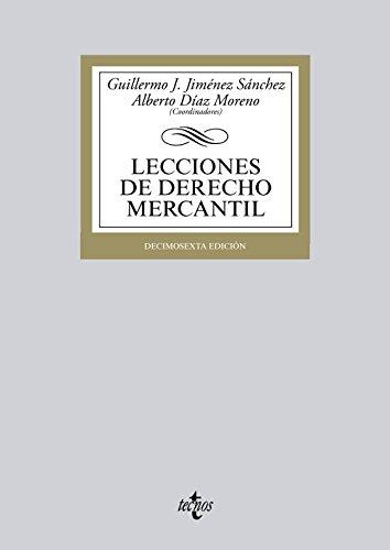 9788430959419: Lecciones de derecho mercantil / Lessons of commercial law (Spanish Edition)