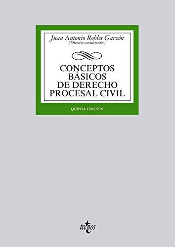 9788430959426: Conceptos básicos de derecho procesal civil / Basics concepts of civil procedural law (Spanish Edition)