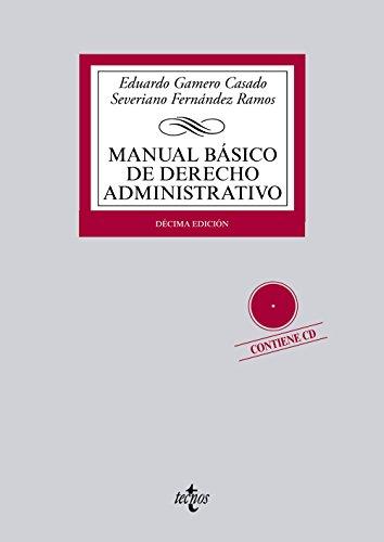 9788430959433: Manual básico de derecho administrativo / Basic Administrative Law Manual (Spanish Edition)