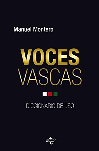 9788430961436: Voces vascas / Basque voices: Diccionario De Uso / Dictionary of Use (Spanish Edition)