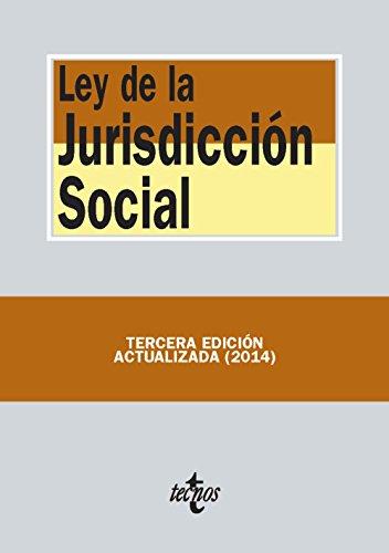 9788430962662: Ley de la Jurisdicción Social (Derecho - Biblioteca De Textos Legales)
