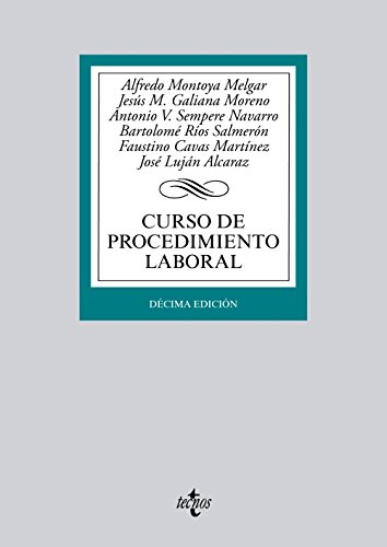 9788430963096: Curso de procedimiento laboral / Labor procedure Course (Spanish Edition)