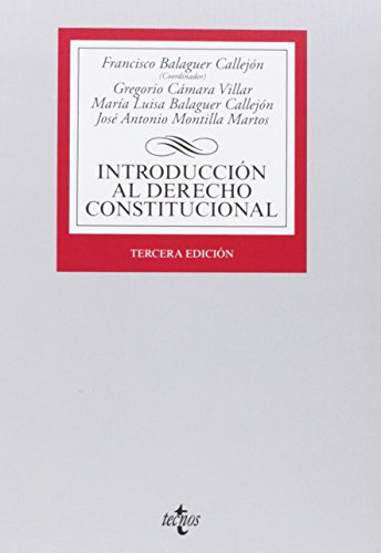 9788430963119: Introducción al Derecho Constitucional / Introduction to Constitutional Law (Spanish Edition)