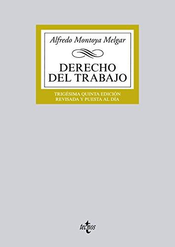 9788430963140: Derecho del Trabajo (Derecho - Biblioteca Universitaria De Editorial Tecnos)
