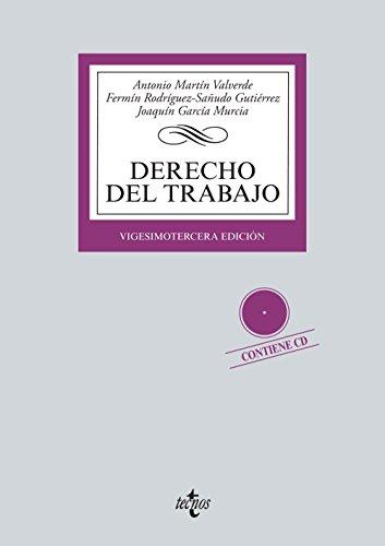 9788430963157: Derecho del Trabajo: Contiene CD (Derecho - Biblioteca Universitaria De Editorial Tecnos)