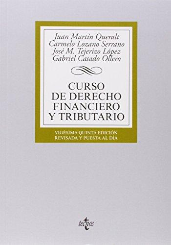 9788430963164: Curso de derecho financiero y tributario (Derecho - Biblioteca Universitaria De Editorial Tecnos)
